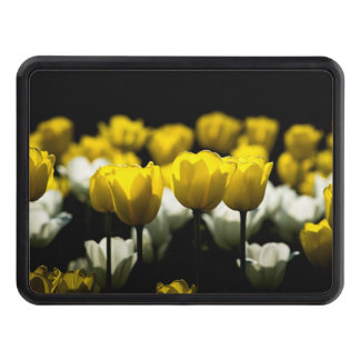 Tulips Yellow And White Hitch Cover