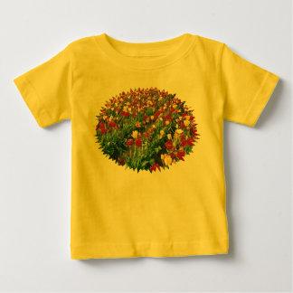Tulips Yellow Baby T-Shirt