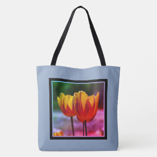 Tulips yellow red_009_q_R5 02.F Tote Bag