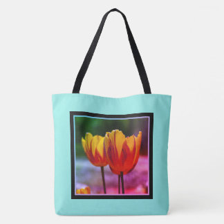Tulips yellow red_009_q_R5 5.02.F Tote Bag