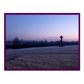 Tullamore (Celtic Cross & Sunrise) Postcard