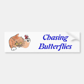 Tully and the Red Butterfly Car Bumper Sticker