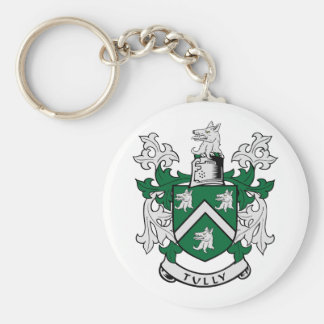 TULLY Coat of Arms Keychain