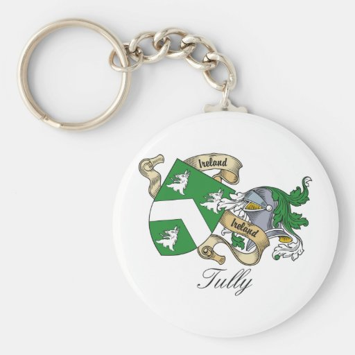 Tully Family Crest Keychain