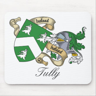 Tully Family Crest Mouse Pad