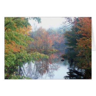 Tully River Autumn Card