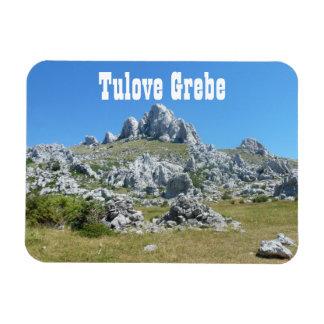 Tulove Grede, montañas de Velebit, Dalmacia, Croac Imanes Flexibles