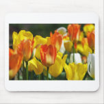 Tulpen Garten Mauspads