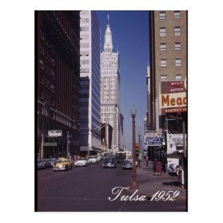Tulsa 1952 Postcard