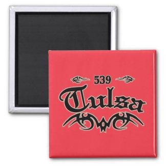 Tulsa 539 magnet