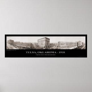 Tulsa, AUTORIZACIÓN - fotografía panorámica - 1910 Impresiones