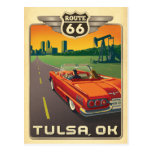 Tulsa, AUTORIZACIÓN - ruta 66 Tarjetas Postales