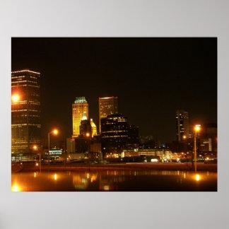 Tulsa céntrico poster