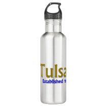 Tulsa Established Water Bottle (24 oz)