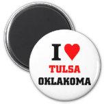 Tulsa Fridge Magnets
