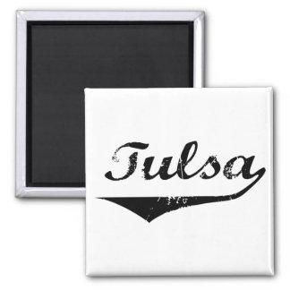 Tulsa Imán Cuadrado