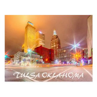 tulsa Oklahoma céntrica Postales
