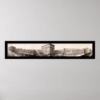 Tulsa, Oklahoma Photo 1910 Poster