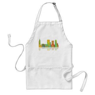 Tulsa Oklahoma Skyline Adult Apron