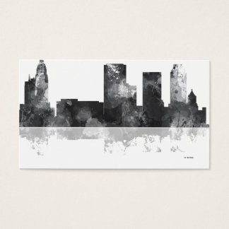 TULSA, OKLAHOMA SKYLINE BUSINESS CARD