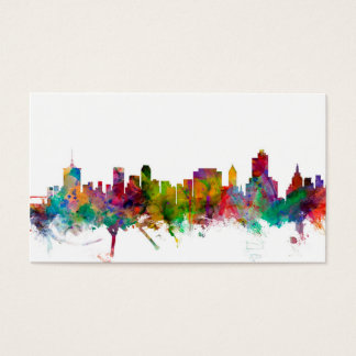 Tulsa Oklahoma Skyline Business Card