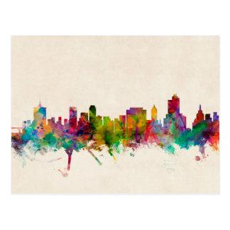Tulsa Oklahoma Skyline Cityscape Postcards