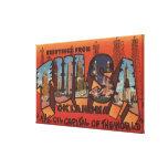 Tulsa, OklahomaLarge Letter ScenesTulsa, OK Canvas Prints