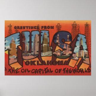 Tulsa, OklahomaLarge Letter ScenesTulsa, OK Poster