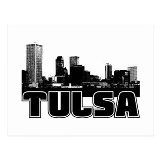 Tulsa Skyline Postcard