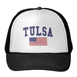 Tulsa US Flag Trucker Hat