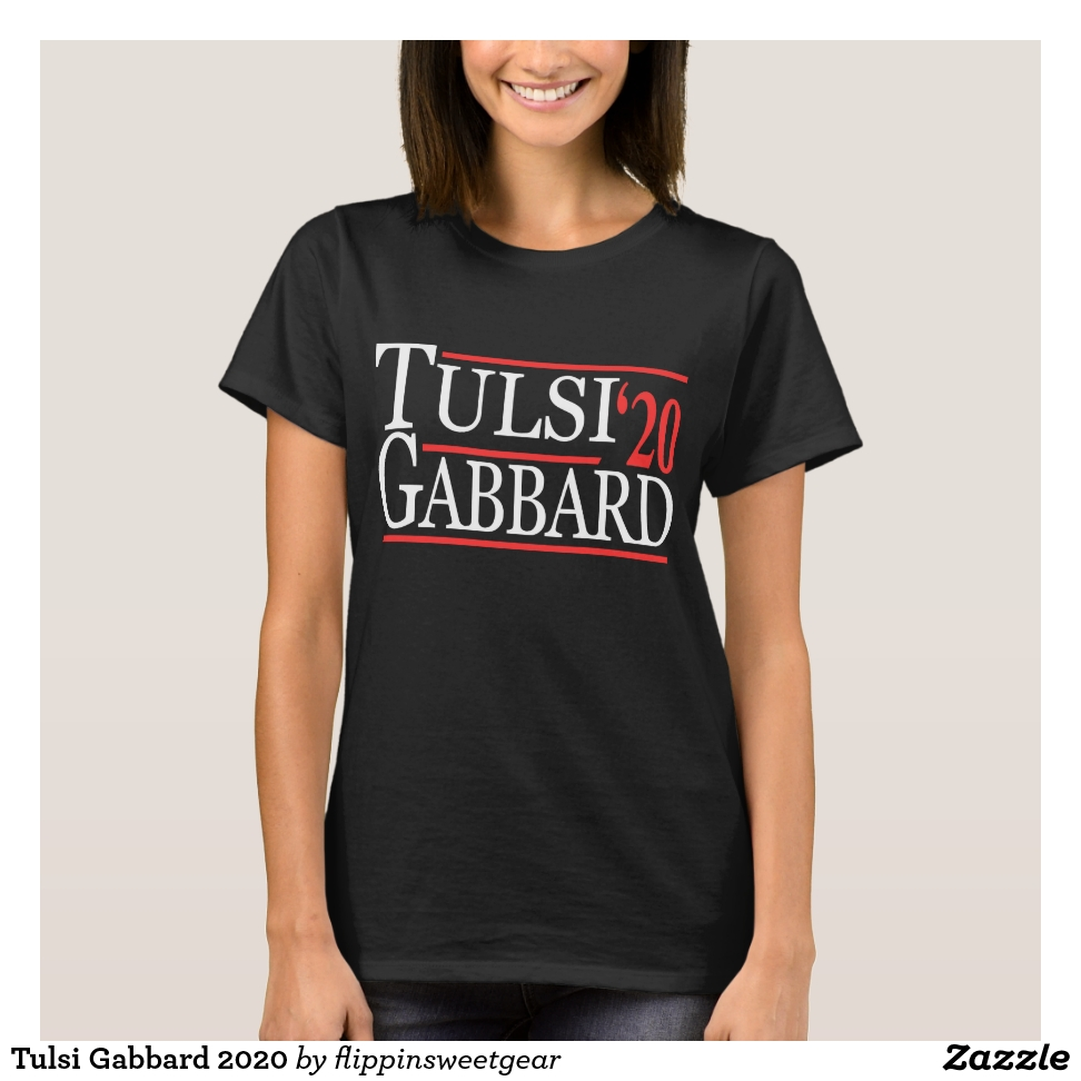 Tulsi Gabbard 2020 T-Shirt - Best Selling Long-Sleeve Street Fashion Shirt Designs
