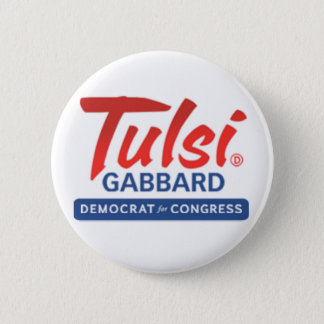 Tulsi Gabbard for Congress Button