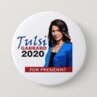 Tulsi Gabbard for President 2020 Button