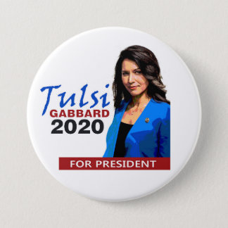 Tulsi Gabbard for President 2020 Button