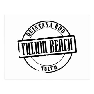 Tulum Beach Title Postcard