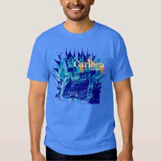 Tulum Heliconia Azul Camisas