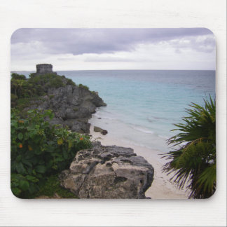 Tulum Mayan Ruins Mexico Cozumel Mouse Pad