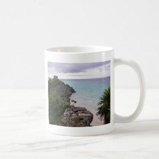 Tulum Mayan Ruins Mexico Cozumel Coffee Mugs