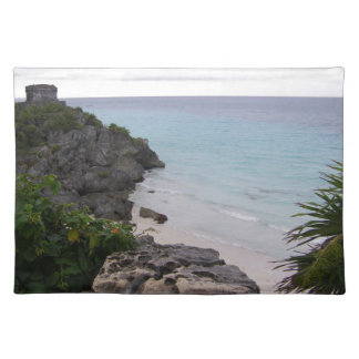 Tulum Mayan Ruins Mexico Cozumel Placemat