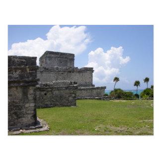 Tulum, Mayan Ruins, Mexico Postcard