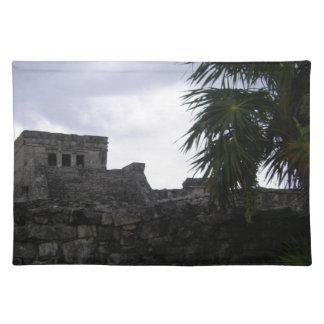 Tulum Mayan ruins Mexico Yucatan ruin Placemat