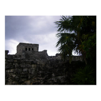 Tulum Mayan ruins Mexico Yucatan ruin Postcard