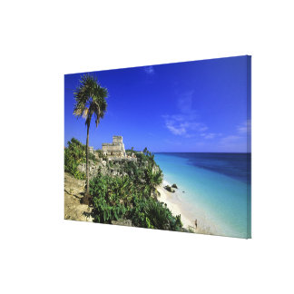 Tulum Mexico 2 Stretched Canvas Prints