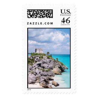 Tulum Mexico Postage Stamps