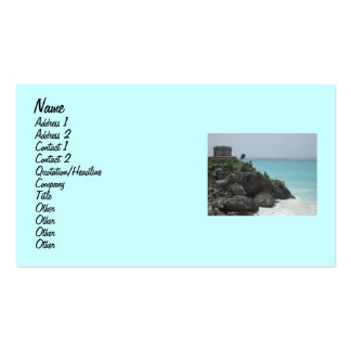 Tulum Ruin Business Card