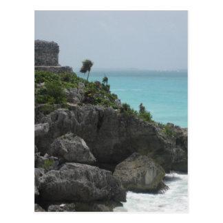 Tulum Ruin Postcard
