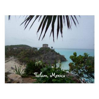 tulummexico, Tulum, México Tarjeta Postal