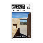 Tumacacori Doorway Postage Stamp