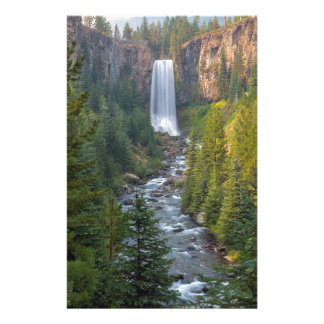 Tumalo Falls in Bend Oregon Stationery