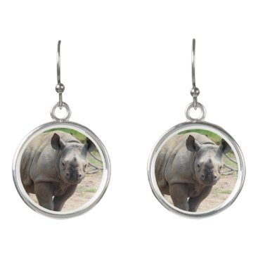 USA Themed Tumani Earrings